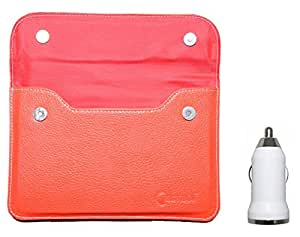 Chevron Pouch Case for Mosti Tab Tablet with USB Car Charger