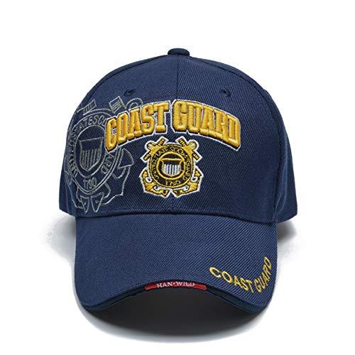 FHSOHG Casual Usa Küstenwache Armee Baseball Kappe Knochen Us Navy Hut Caps Männer Frauen Balck Taktische Kappe Us-baseball-kappen