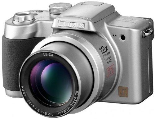 Panasonic Lumix DMC-FZ5EG-S Digitalkamera (5 Megapixel)