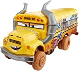 Cars 3 - Coche Crazy Deluxe Miss Fritter (Mattel DYB21)