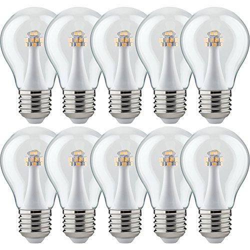10 x Paulmann LED AGL Birnenform 3W = 25W E27 Klar 260lm warmweiß 2700K 300°