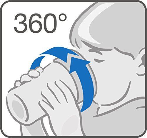 NUK Magic Cup, Trinklernbecher mit persönlicher Gravur, 230ml (rosa) - 3