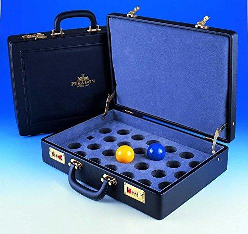 Executive Attache 25Ball abschließbar Schutzhülle für Billard, Pool oder Billard