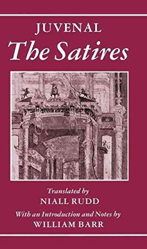 [The Satires] (By: Juvenal) [published: May, 1991]