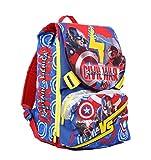 Seven Captain America Civil War 2B8001604-591 Zaino Sdoppiabile, 28 litri, Poliestere, Multicolore