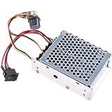 MagiDeal PWM Switch DC 40Amp 10-50V Motor Speed Variable Regulator Controller Reversible Switch DC 12V 24V 36V 48V