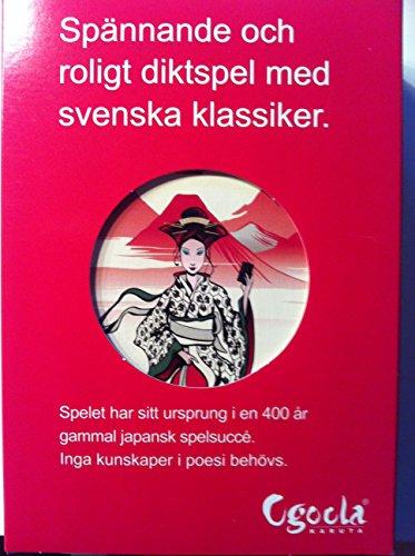Ogoola Karuta - diktspel med svenska dikter 1598-1931