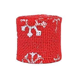 adeshop diy christmas decorations, xmas gifts, 2m sewing tape hessian natural jute roll burlap lace ribbon diy craft decor ADESHOP DIY Christmas Decorations, Xmas Gifts, 2M Sewing Tape Hessian Natural Jute Roll Burlap Lace Ribbon DIY Craft Decor 51KI1SfVWQL