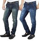 Stylox Set Of 2 Slim Fit Men Denim Jeans