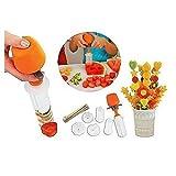 BlueBeach® 10 tlg Set für Cutting Carving Formen aus Früchten, kommt mit 6 Formen