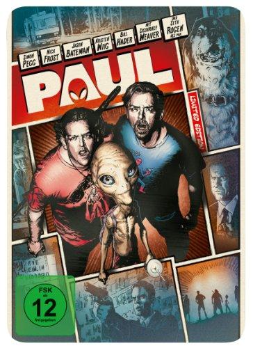Paul - Ein Alien auf der Flucht - Reel Heroes (Steelbook) [Limited Edition] [Blu-ray]