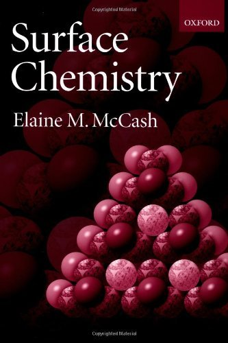 Surface Chemistry by Elaine M. McCash (2001-07-05)