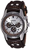 Best Fossil Watches For Men - Fossil Coachman Chronograph Silver Dial Men's Watch Review