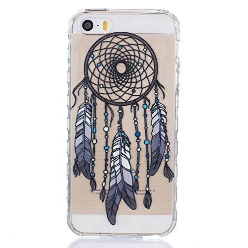Pour Apple iPhone 5 5G 5S / iPhone SE (4 Pouces) Coque ZeWoo® Étui en Silicone TPU Housse Protecteur - BF083 / Des Marguerites BF080 / Le Capteur De Rêves