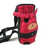 Bild: Fit Into Everyway Beine heraus Pet FrontGepäckträger Hund Katze Rucksack HaustierTasche mit verstellbarem Schultergurt