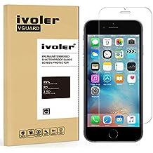 iVoler - Protector de Pantalla de Vidrio Templado Cristal Protector para Apple iPhone 6s Plus y iPhone 6 Plus 5.5''.
