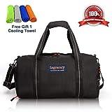 La Gracery Sporttasche mit Schuhfach & Trocken Nass Trennschicht Wasserdichte Reise Seesack für Frauen und Männer