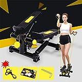 DYHQQ Mini Laufband Stepper Haushalt Fitness Gewichtsverlust Maschine Ruhige Hydraulische Treppe, Fitness Geschenk