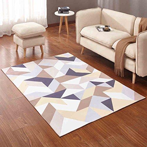 &tapis de salon Tapis rectangulaire, tapis créateur de mode star 3D / salon/chambre/canapé/table basse de style européen couvertures (Couleur : C, taille : 140 * 200cm)