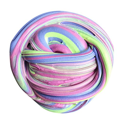 Fluffy Slime Clode® Fluffy Floam Slime Duft Stress Relief Kinder Spielzeug Schlamm Spielzeug - Puppe-haus-bundle