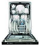 Pyramis DWF 45FI Vollintegrierbarer Einbau-Geschirrspüler Geschirr-Spülmaschine
