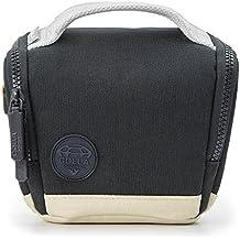Golla G1751 Cubierta de hombro Negro, Gris estuche para cámara fotográfica - Funda (Camera shoulder case, Universal, Negro, Gris, Poliéster, Resistente a rayones, Resistente a golpes, 180 mm)