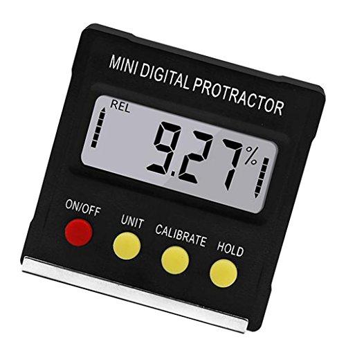 Digitale Wasserwaage Neigungsmesser Winkelmesser Mit LCD