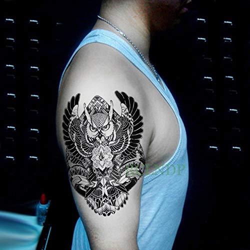 Handaxian 3pcswaterproof tattoo sticker totem tribale old school tattoo sticker ragazza braccio mano femminile