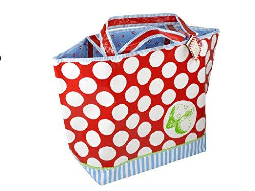 Preisvergleich Produktbild Shopper Punkte & Streifen
