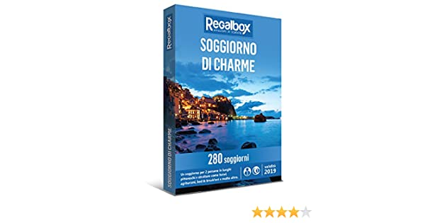 Regalbox - Soggiorno di charme - Cofanetto regalo: Amazon.it: Sport ...