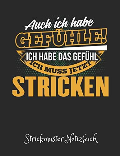 Strickmuster Notizbuch: Blanko Strickpapier Heft & Strick Journal im Verhältnis 4:5. Tolle Geschenk Idee für Strick-Begeisterte. -