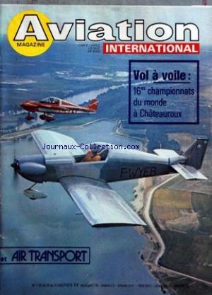 70s Groupe - AVIATION MAGAZINE [No 736] du 15/08/1978 -