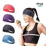 Mylego Sport-Stirnband Nicht rutschende Sportschweißbänder Feuchtigkeitsabführende Kopfbedeckung Stirnbänder Perfekt für Radfahren, Laufen, Yoga, Fitnesstraining für Herren und Damen.