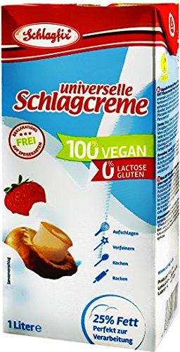 Schlagfix Schlagcreme 25% Fett ungesüßt 1L