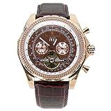 Constantin Durmont CD2601283RG - Reloj de Caballero automático, Correa de Piel Color marrón