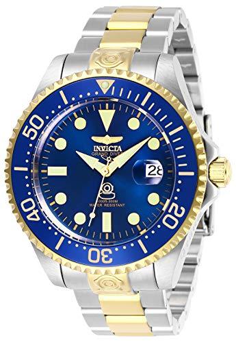 Invicta 27613 Pro Diver Herren Uhr Edelstahl Automatik blauen Zifferblat - Invicta-uhr 47mm