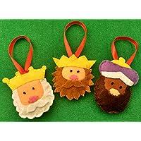 Adornos de Navidad Reyes Magos