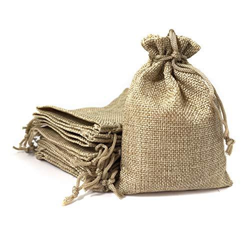 Bolsa lino 9,5*13,5 cm 25 bolsas Saquito regalos