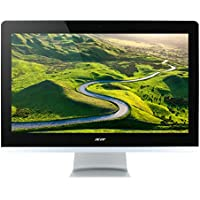 Acer Aspire Z3-715 All-in-One (Intel Core i5-7400T, 8GB RAM, 2000GB HDD, Intel HD Graphics 620, Win 10 Home) schwarz/silber