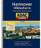 ADAC StadtAtlas Hannover/Hildesheim mit Celle, Hameln, Nienburg, Peine 1:20 000 (ADAC Stadtatlanten)