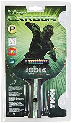 JOOLA TT-raqueta Mega Carbon, rojo-negro, talla única, 54205