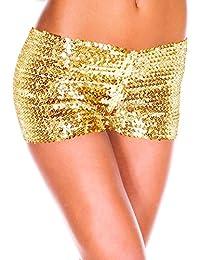 Moon Angle Damen Sequins Elastische Shorts Hosen Tanz Clubwear Paillette  Shorts 0f0ec4e685