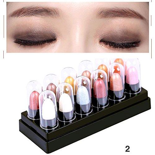 12 Farben Renaissance Augenschatten Make up Kosmetik Shimmer Matte Lidschatten Palette Langlebig und tragbar leicht leicht zu tragen (Renaissance Tragen)