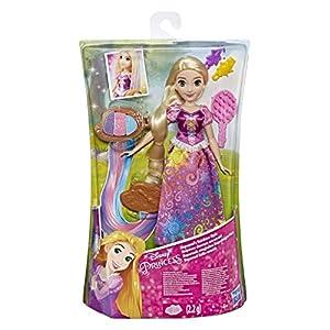 Disney Princess - Muñeca Rapunzel, Estilo Arco Iris, Multicolor
