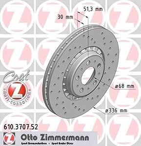 Bremsscheibe Sport Bremsscheibe Coat Z Zimmermann 610 3707 52 Auto