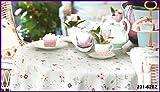 Tischdecke Floral Tisch Cover 140cm x 180cm DC Fix abwischbar Küche Displayschutzfolie 231–6262
