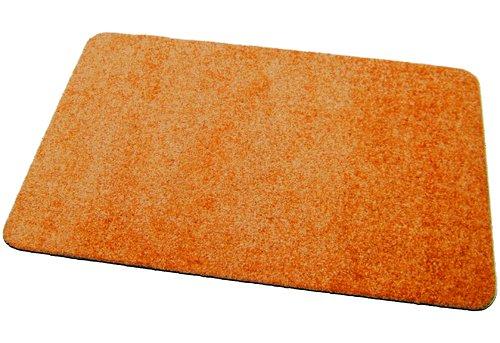 Deko-Matten-Shop Fußmatte Classic, Schmutzfangmatte, rechteckig, 30x50 cm, orange, in 13 Größen und 11 Farben