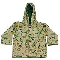 Powell Craft Boys Dinosaur Raincoat-Rain Mac.multicoloured