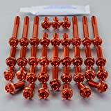 Aluminium Engine Kit XV1100 Virago Race Spec Orange