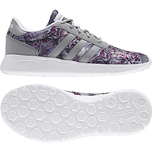 adidas Damen Lite Racer W Sneaker Low Hals, Elfenbein (Ftwbla/Onicla/Plamat), 38 EU